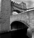Castle. & Moat Bridge, QLD, Australia royalty free stock images