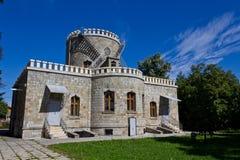 Castle. Iulia Hasdeu castle from Campina,Romania Stock Photos