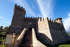 Castle. The entrance to a stone castle Stock Photography