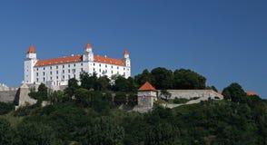 Bratislava castle , Slovakia Stock Photo
