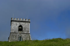 Castle. An old castle in Azores Stock Image
