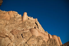 Castle. Old historical castle at turkey Stock Image