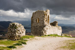 Castle. In Teba, Malaga, Spain Royalty Free Stock Images