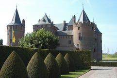 Castle. At Muiden Netherlands Stock Images