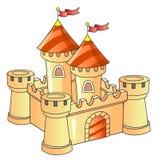 Castle. Fantasy castle; old architecture; kingdom Stock Photos