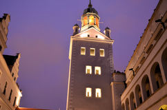 Castle. The reneissance castle in Szczecin (Poland Stock Photos