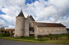 Castle. Ancient castle in Loire, France Stock Images