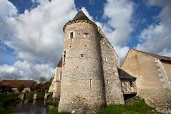 Castle. Ancient castle in Loire, France Stock Photos