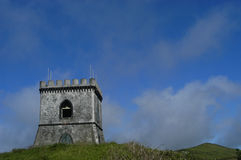 Castle. In Azores Royalty Free Stock Image