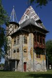 Castle. Photo of castle in subotica, vojvodina Royalty Free Stock Images