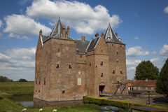 Castle. Loevestein, Poederoijen (Zaltbommel) in the province of Gelderland, Netherlands Stock Photo