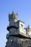 The castle. The well-known castle the Jack of a swallow in Crimea Stock Image