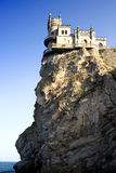 The castle. The well-known castle the Jack of a swallow in Crimea Stock Photography