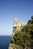 The castle. The well-known castle the Jack of a swallow in Crimea Royalty Free Stock Image