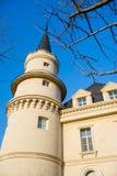 Castle. Winter castle wine estate shooting Royalty Free Stock Photo