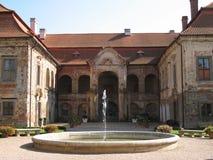 Castle. The Nebilovy Castle in the Czech Republic royalty free stock image