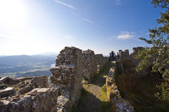 Castle. Ancient castle in Elba Island Royalty Free Stock Photography