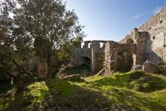 Castle. Ancient castle in Elba Island Royalty Free Stock Photos