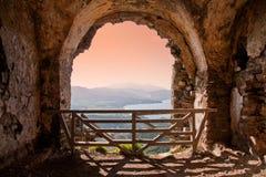 Castle. Ancient castle in Elba Island Stock Images