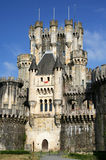 Castle. A castle in northern Spain Royalty Free Stock Photo