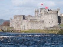 Castle. Old stones castle,Ireland Limerick Stock Photos