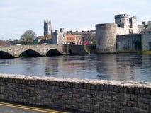 Castle. Old stones castle,Ireland Limerick Royalty Free Stock Photography