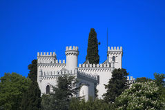 Castle. From Koper - Capodistria, Slovenia royalty free stock image