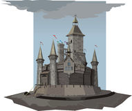 Castle. Illustration Castle There are vector and raster versions Vector Illustration