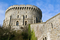 Castle. Part of Windsor castle, England Stock Photos