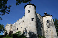 Castle. A photo of the castle in Niedzica, Poland Stock Image