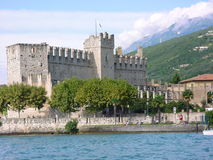Castle. Castel in Italy Royalty Free Stock Photography