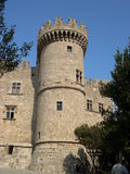 Castle. In Rhodes stock image