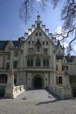 Castle. Old castle Stock Image