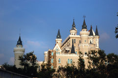 Castle. On blue sky,China Stock Image