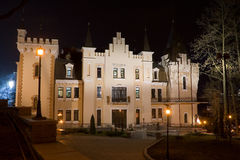 Castle. Building of the baby puppet theatre in kiev Stock Photos