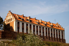 Castle. Old Teutonic castle in Gniew, Poland Royalty Free Stock Photo