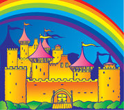 Castle. Stock Image