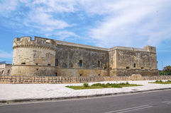 Castle of Acaya. Vernole. Puglia. Italy. Stock Photos
