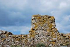 Castle Acquafredda Σαρδηνία Ιταλία Στοκ εικόνα με δικαίωμα ελεύθερης χρήσης