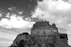 Castle of Acquafredda Stock Photos