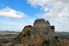 Castle of Acquafredda Stock Photos