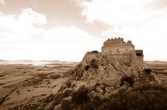 Castle of Acquafredda Stock Images