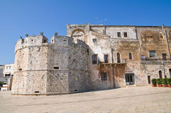 Castle of the Acquaviva of Aragon. Conversano. Puglia. Italy. Stock Photos