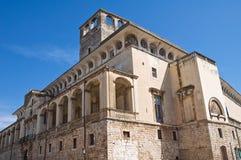 Castle of Acquaviva delle Fonti. Puglia. Italy. Stock Images