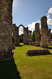 Castle Acre Priory - Nave Royalty Free Stock Images