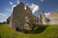 Castle Acre Priory in Norfolk royalty free stock photos