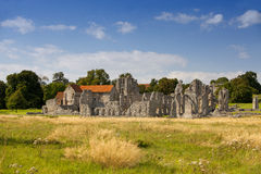 Castle Acre Priory in Norfolk Royalty Free Stock Image
