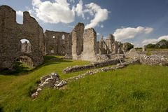 Castle Acre Priory ruins Royalty Free Stock Photography