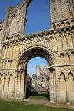 Castle Acre Priory. Ruins of an old monastery in Norfolk, UK Royalty Free Stock Photography