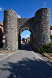 Castle Acre town gate Royalty Free Stock Photos
